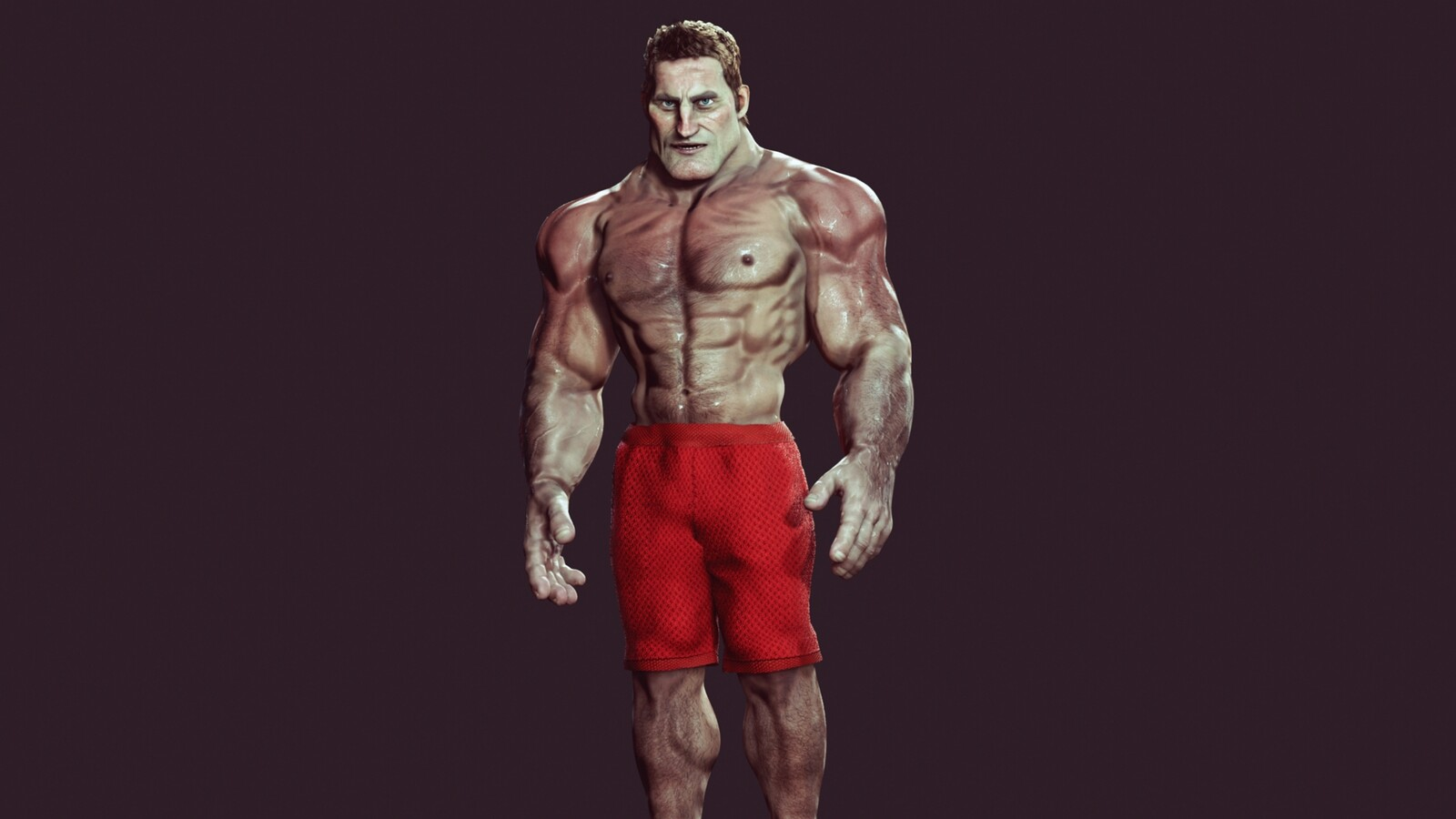 CC3 Stylized Base Muscular Morph