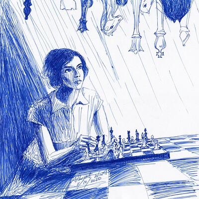 Albert wint queens gambit r