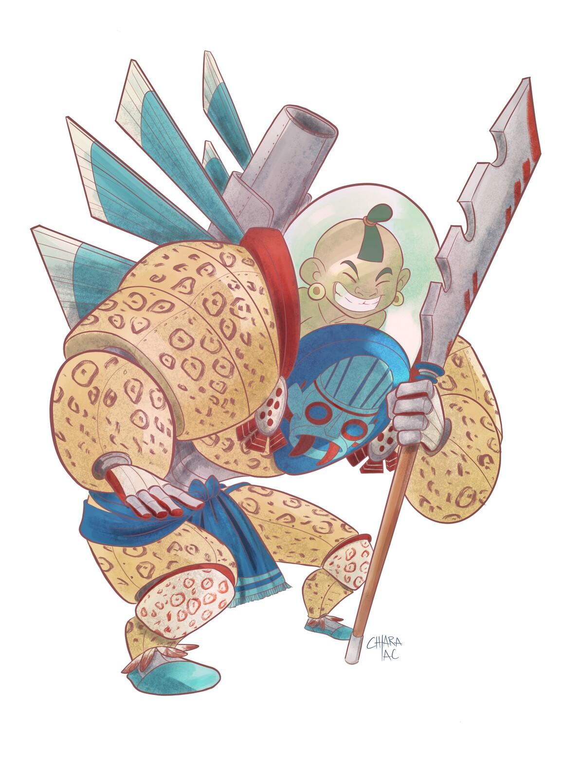 Cdc - Aztec warrior