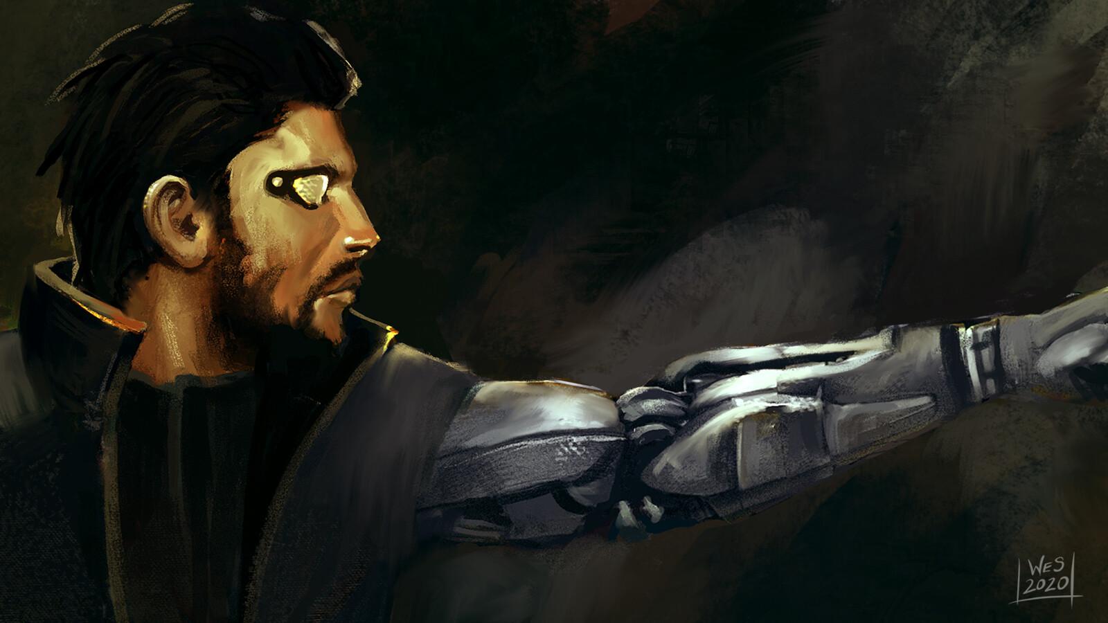 Deus Ex Fan Art (2020 Redux)