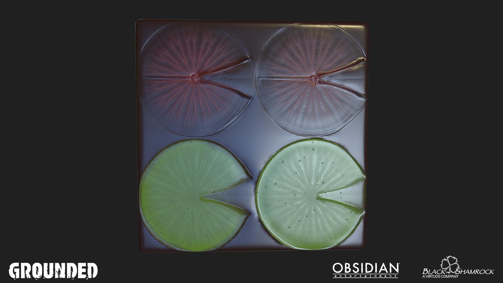 Substance Designer - Leaves atlas