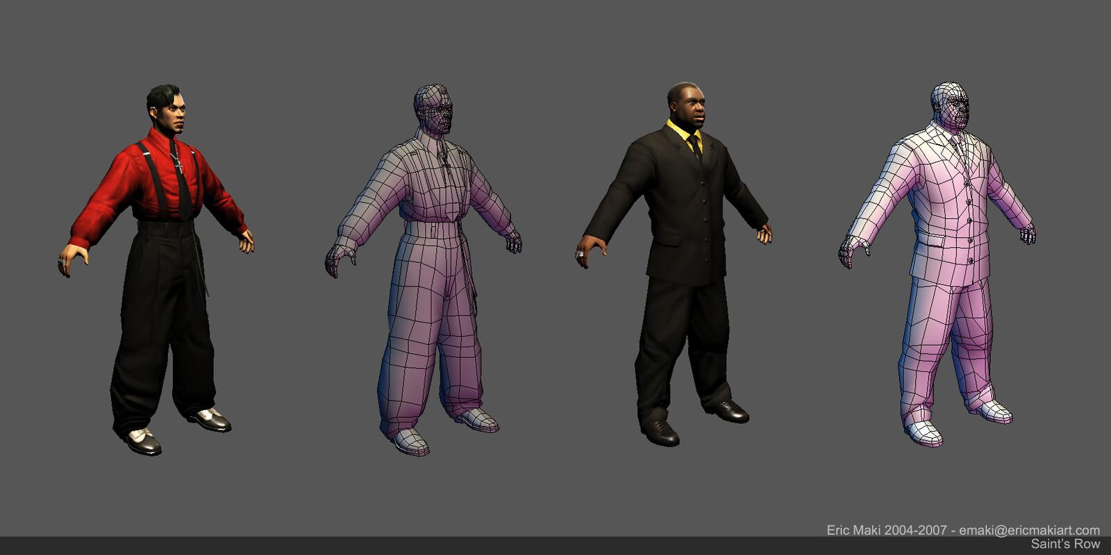 Saint's Row Story Characters