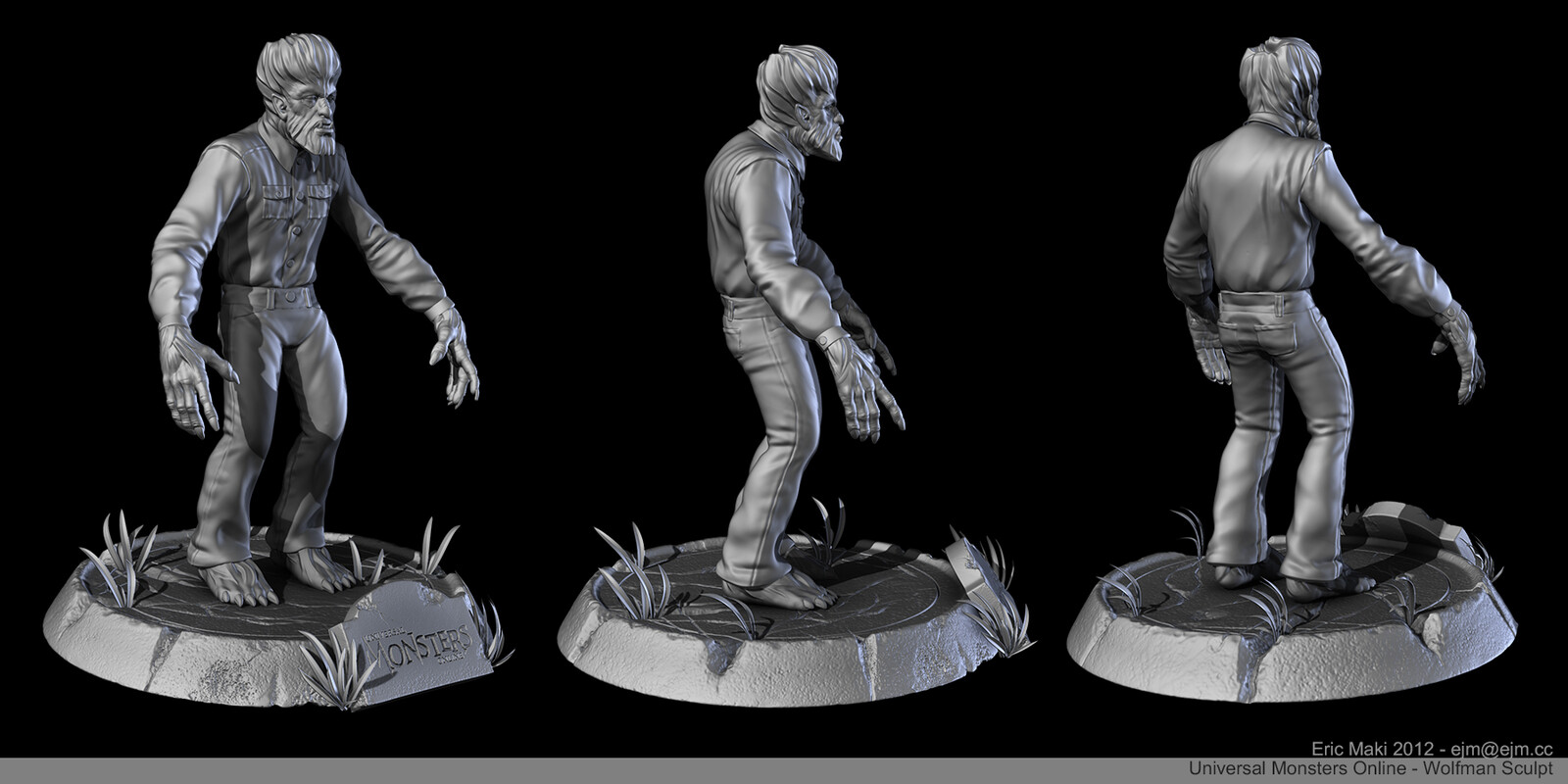 The Wolfman Sculpt