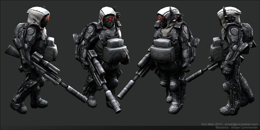 Real-time Military Character