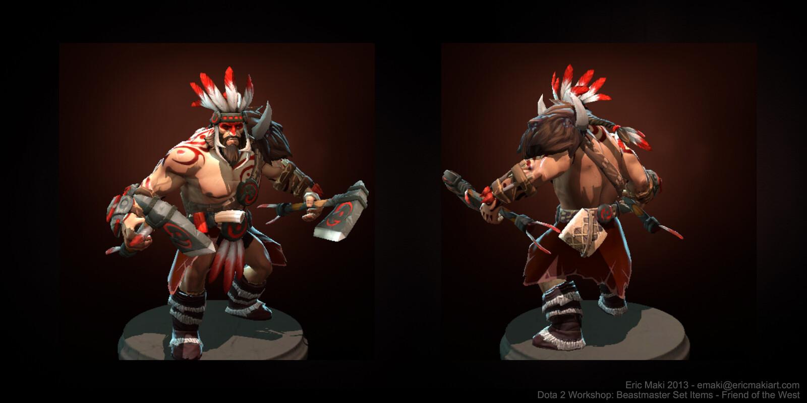 Beastmaster Set: In-game