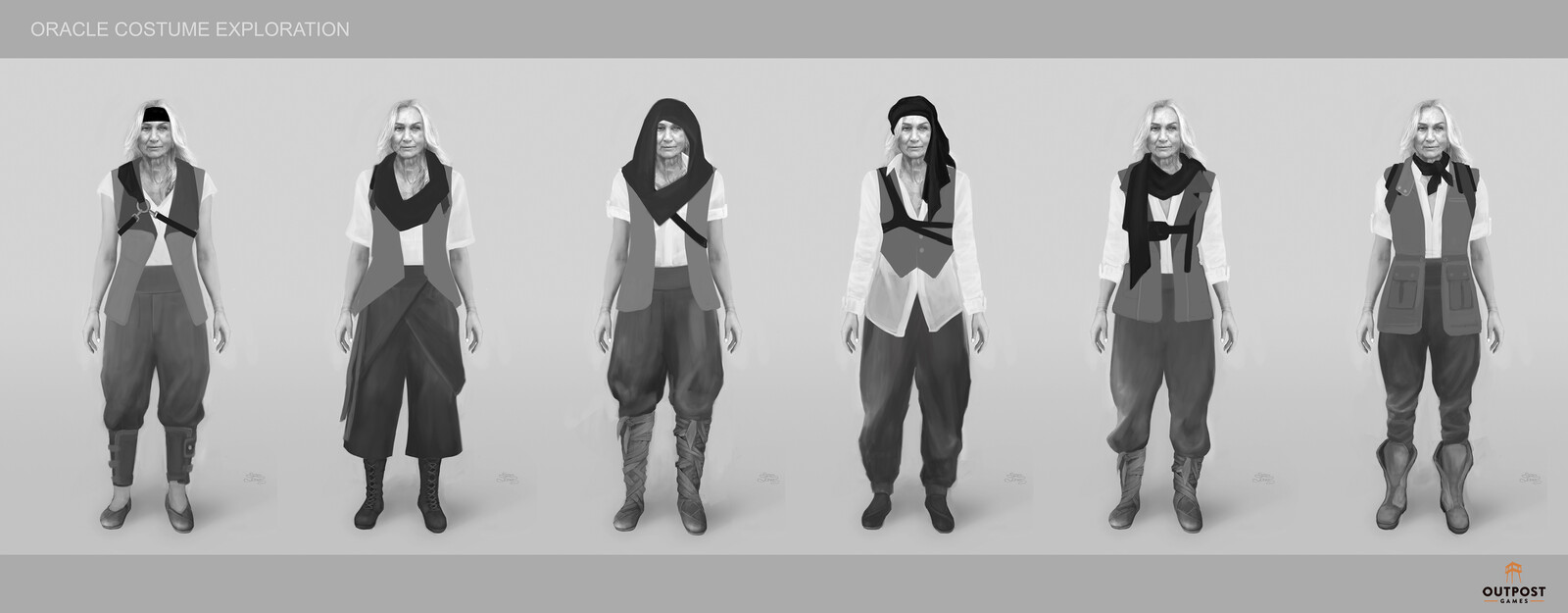 Oracle - Head, Harness and Vest Combinations