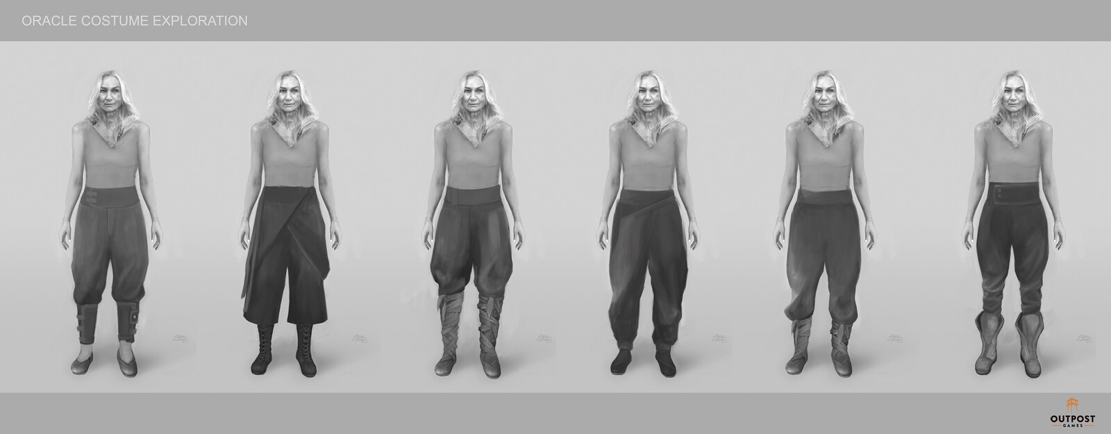 Oracle - Costume Part System Design (Pants)