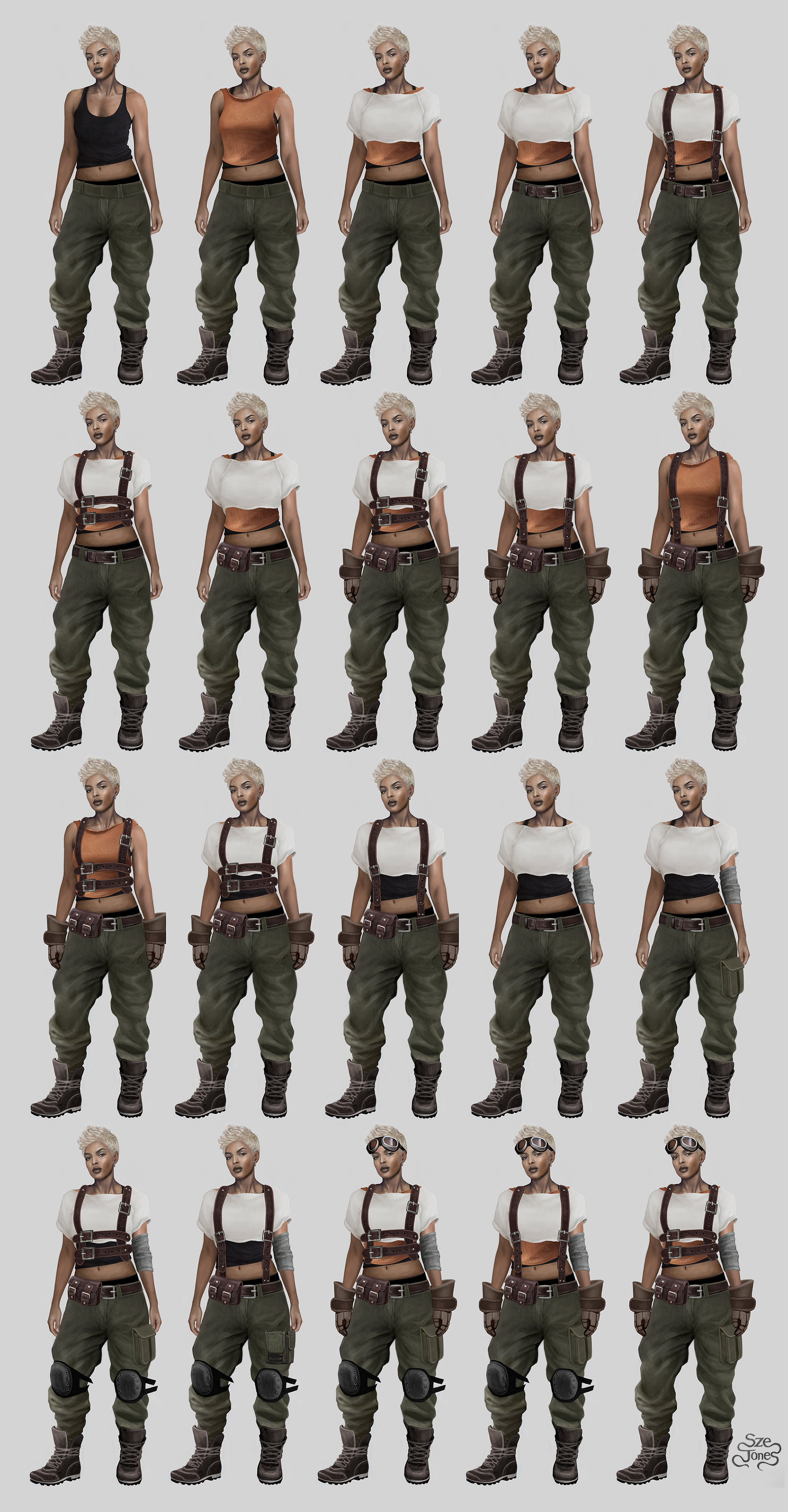 Achiever - Costume Layer and Part System Design - Part II