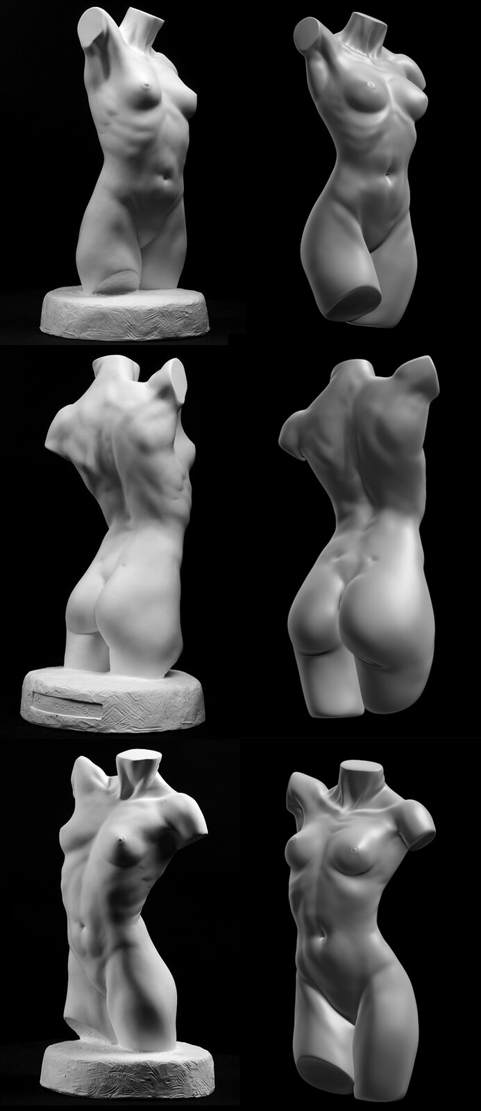Torso Study of Philippe Faraut Book - Part III