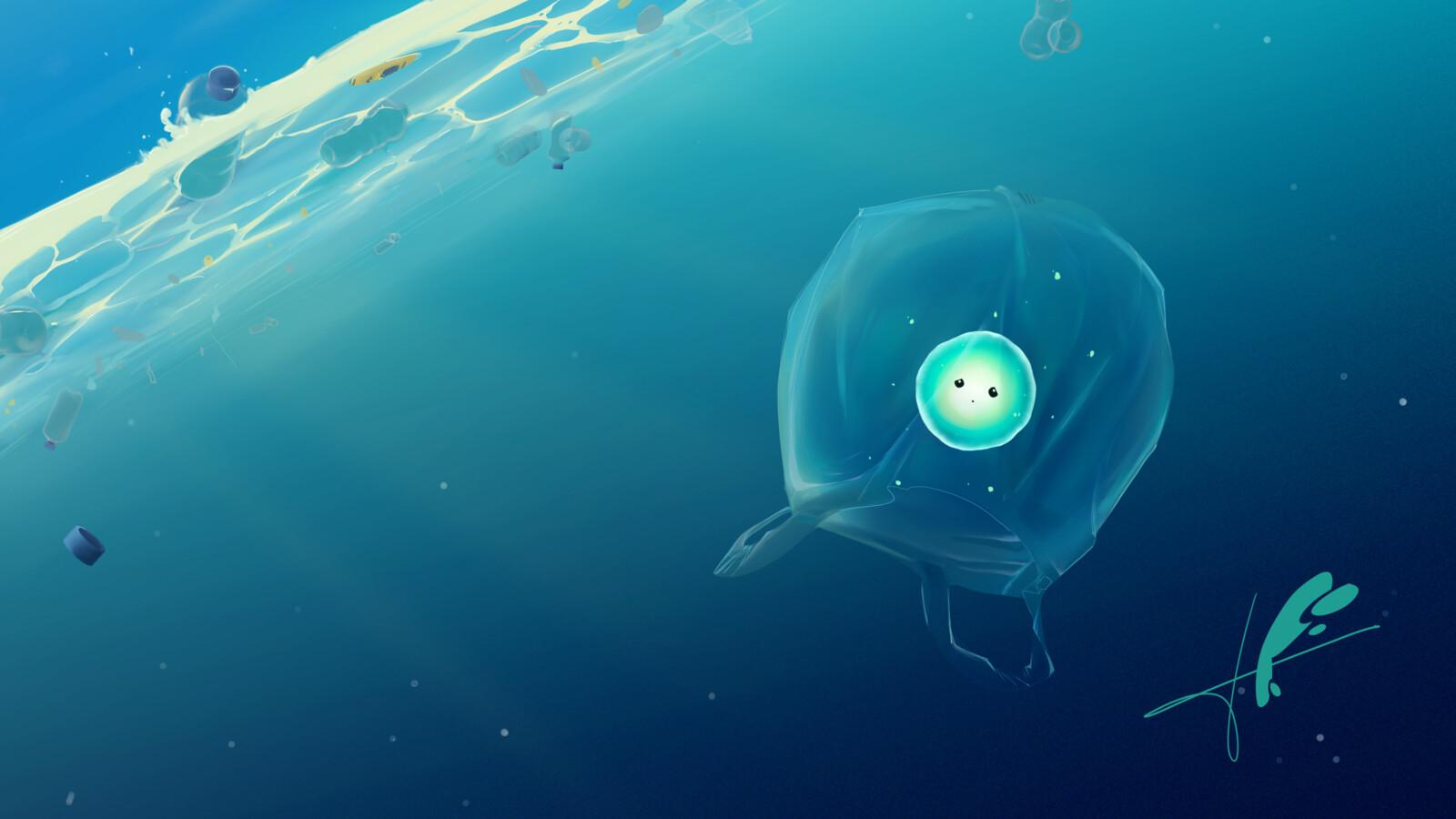 Plastic of the sea