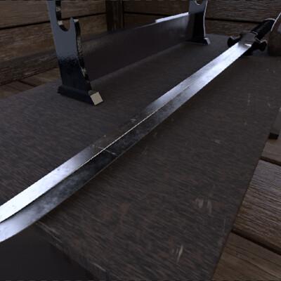 Charles spall sword