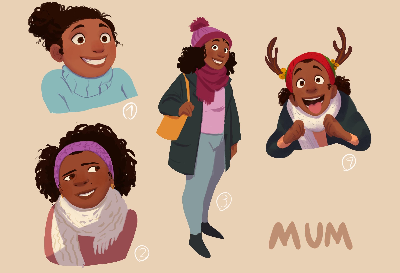 Mum Character Explorations