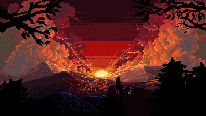 Pixel illustration #26 // Commission