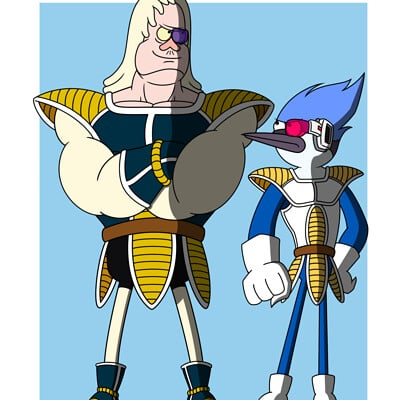 Curt headley regular show saiyans final
