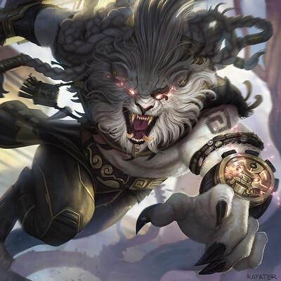 Rafater rafael teruel riot games rengar leagues of legends by rafater