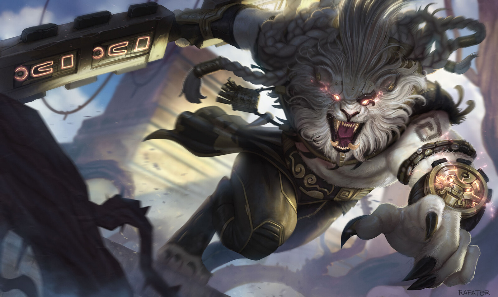 Rengar Splash Art