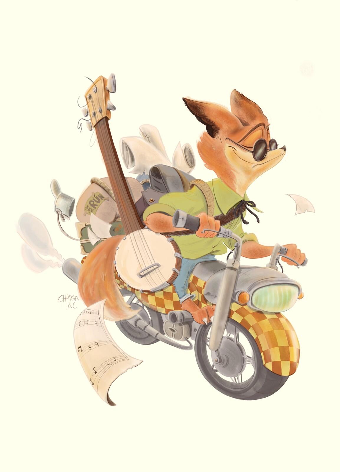 Cdc - Fox Adventurer