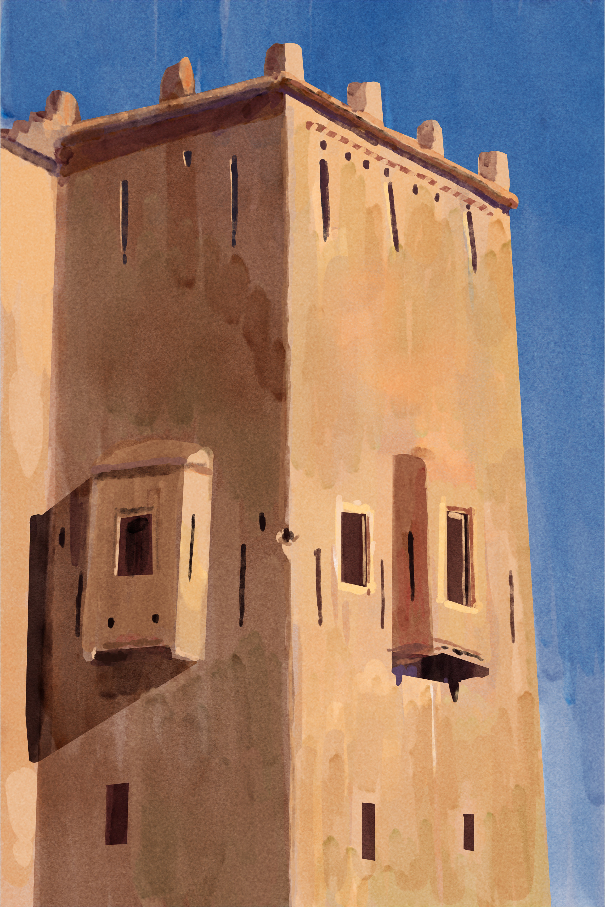 Taourirt in Morocco  Photo ref used