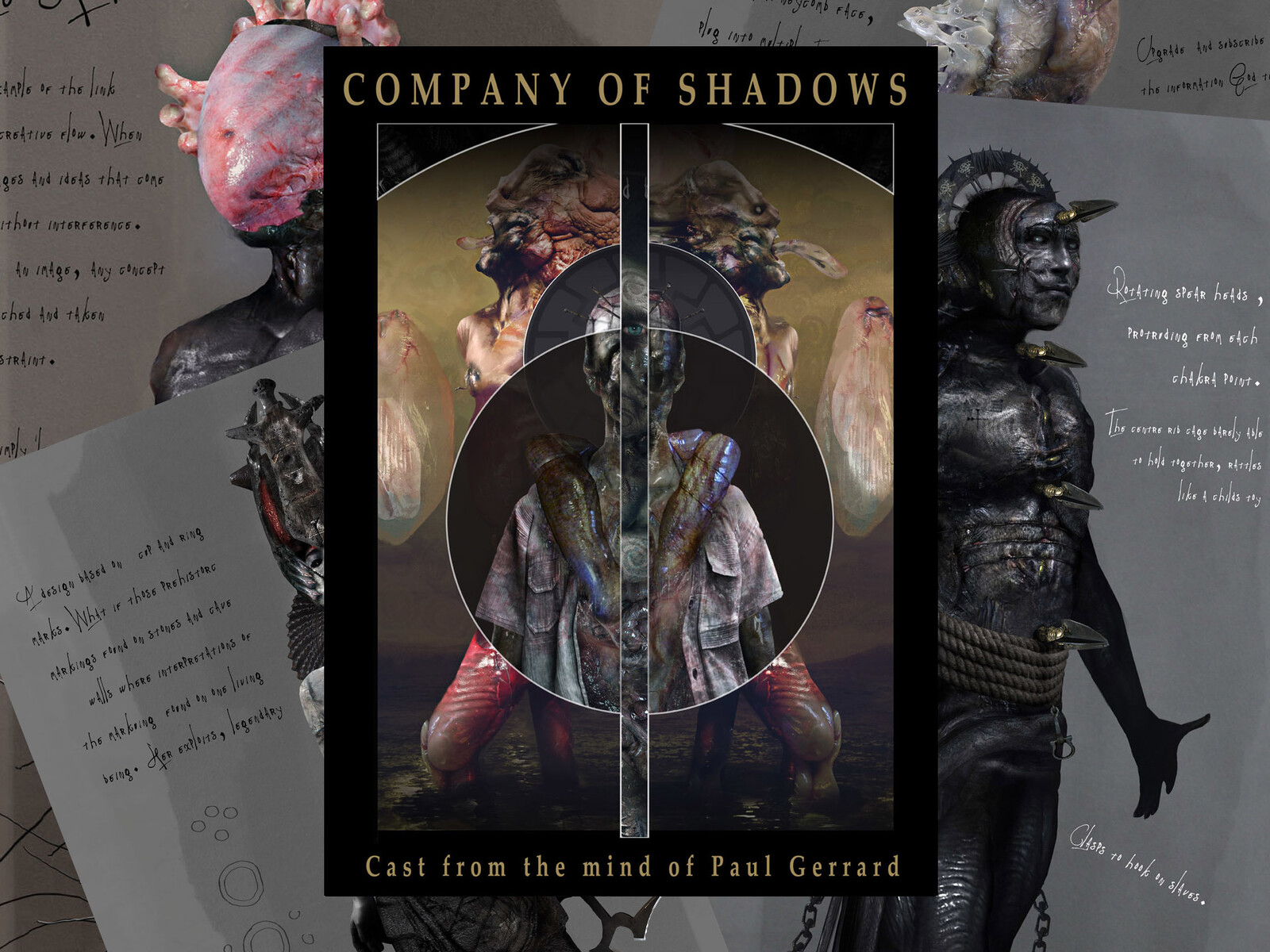 BOOKS : COMPANY OF SHADOWS