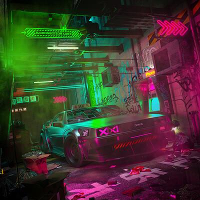 Skiegraphic studio alleycyberpunk2