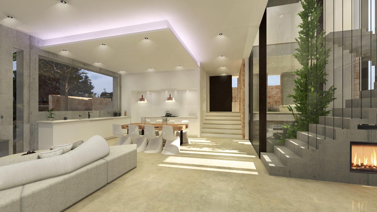 Render Final Interior
