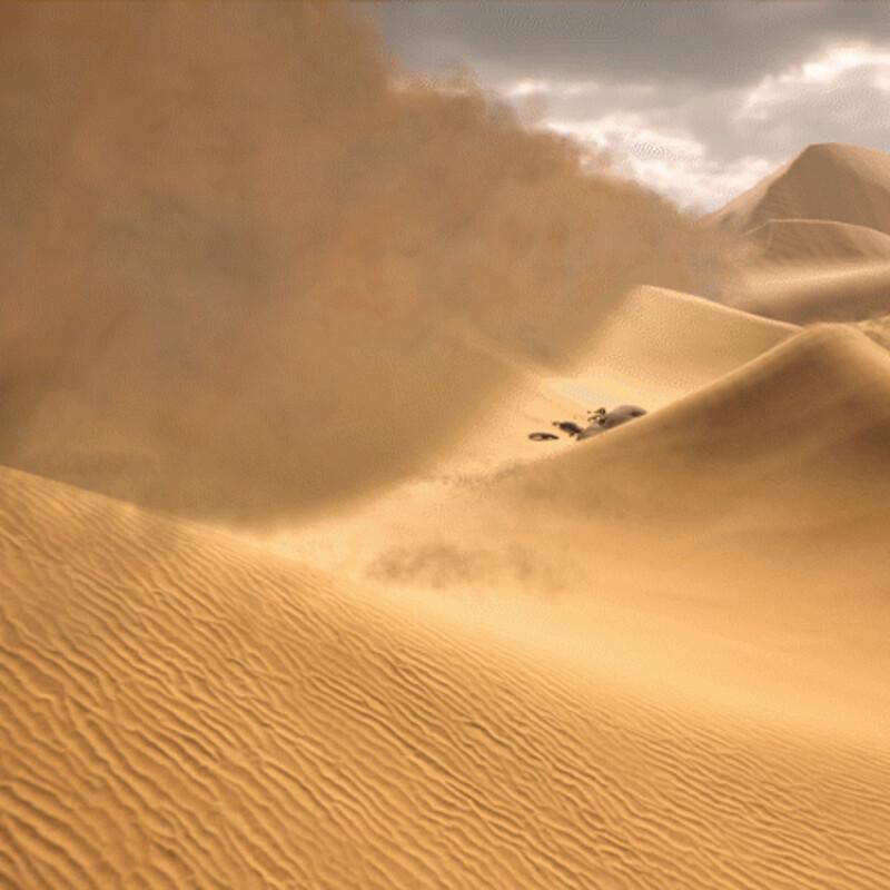 Making a Sandstorm