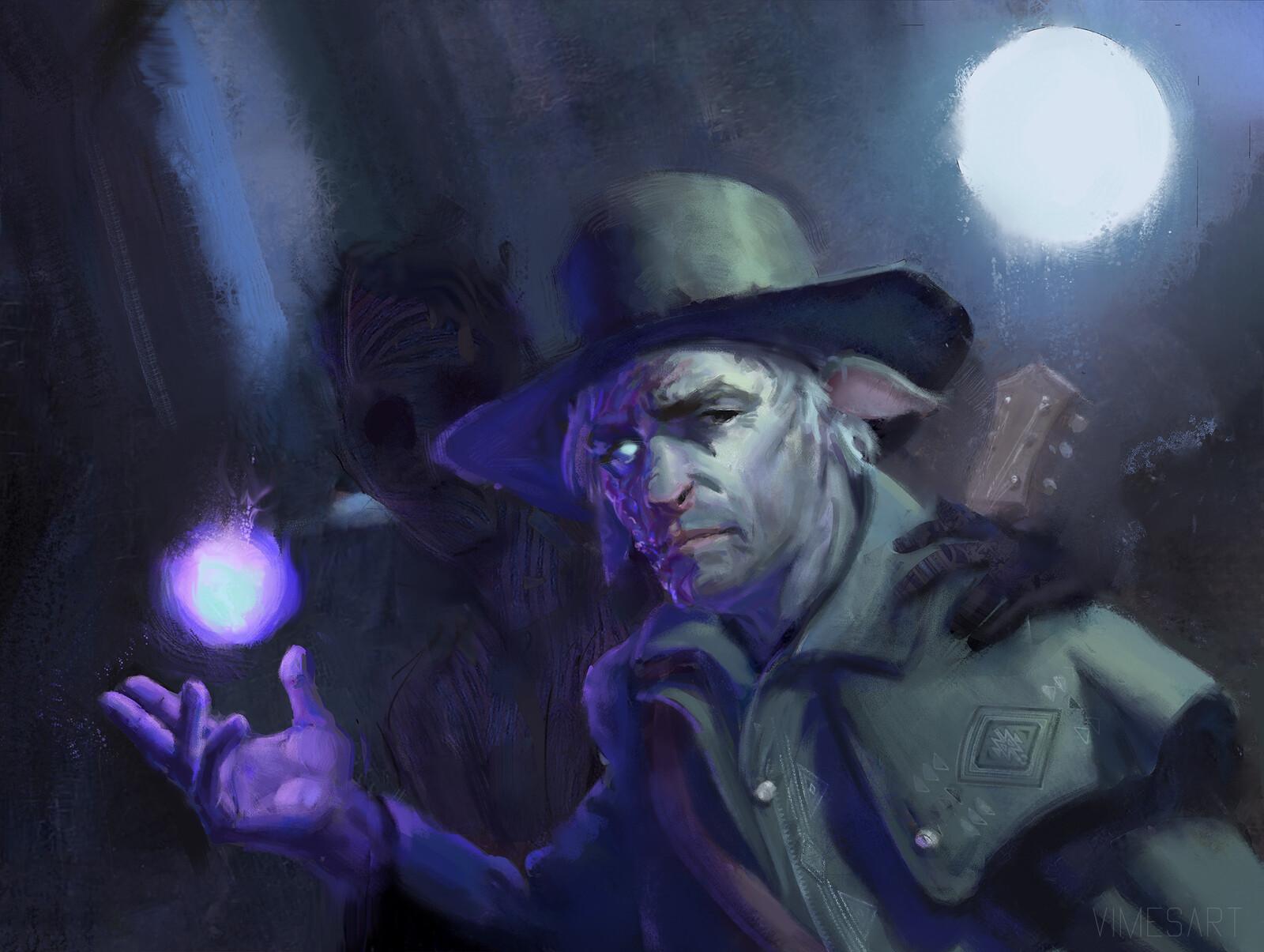 Warlock Firbolg Speedpaint