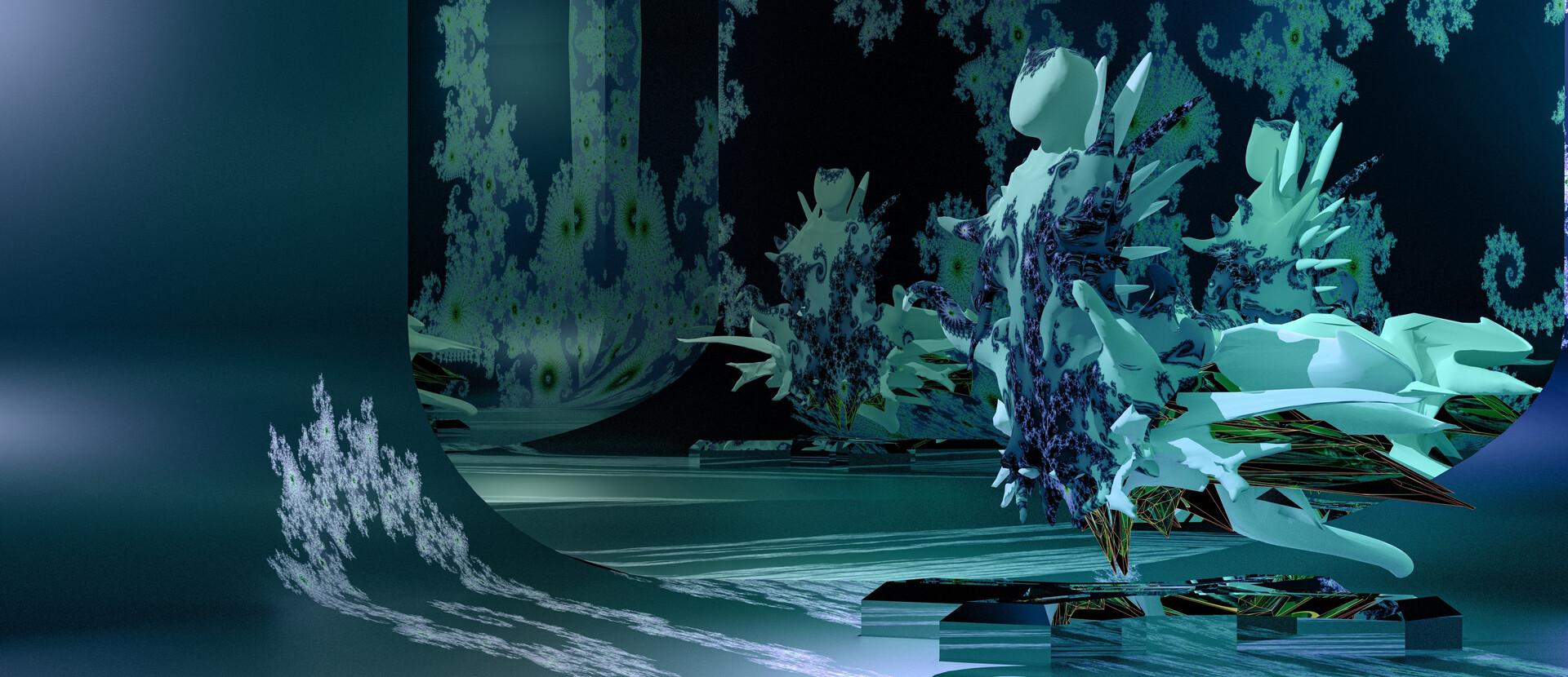 Fractalian Blue