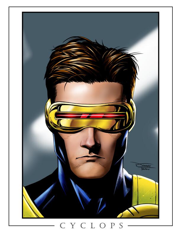 Cyclops/Scott Summers  Follow me on Instagram for the latest updates! https://instagram.com/donnydtran * Art Prints are available over at my online shop: https://donnydtran.bigcartel.com/