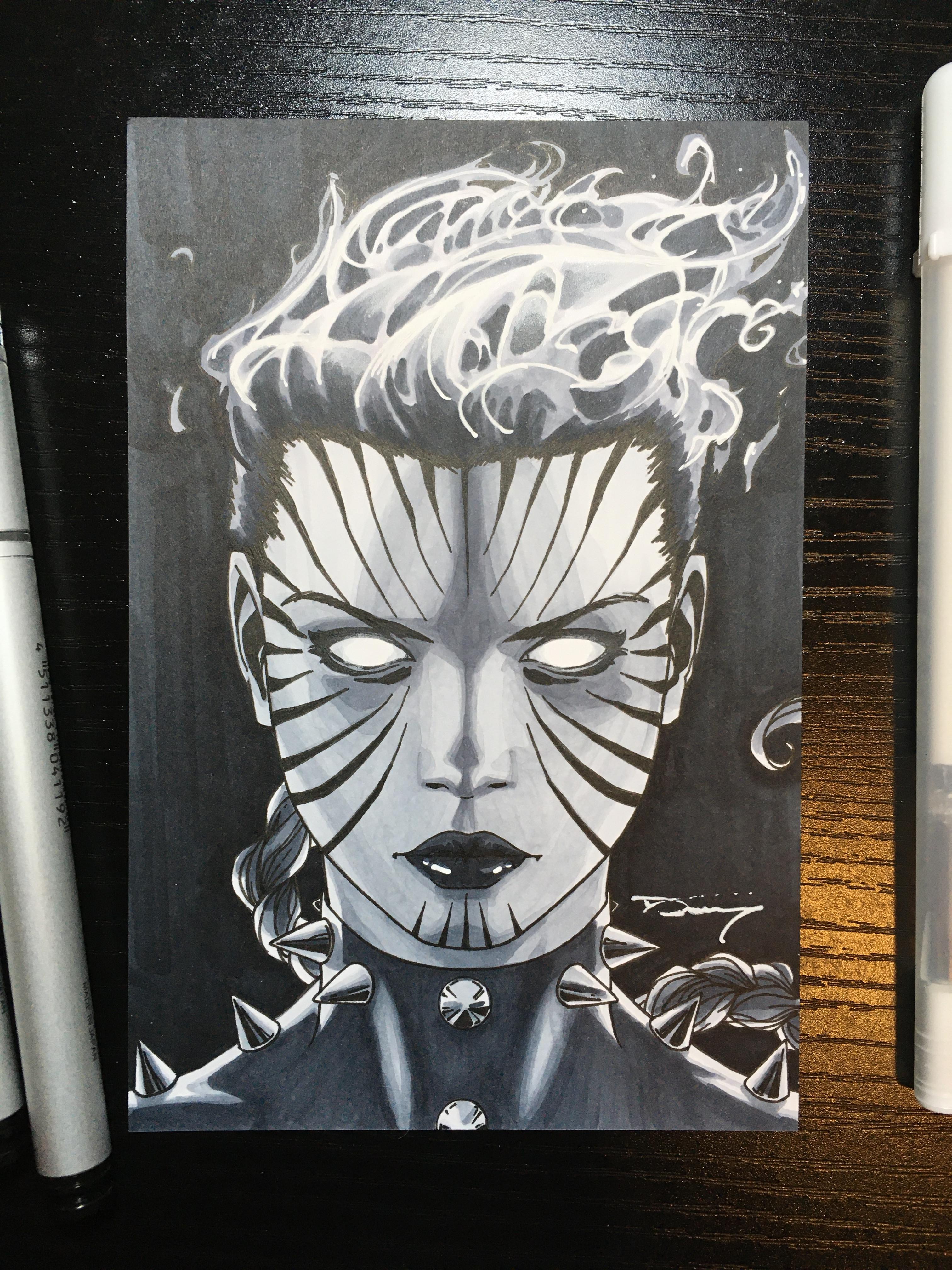 Phoenix/Rachel Summers  Original Sold. Mini Prints still available :)  Follow me on Instagram for the latest updates! https://instagram.com/donnydtran * Art Prints are available over at my online shop: https://donnydtran.bigcartel.com/