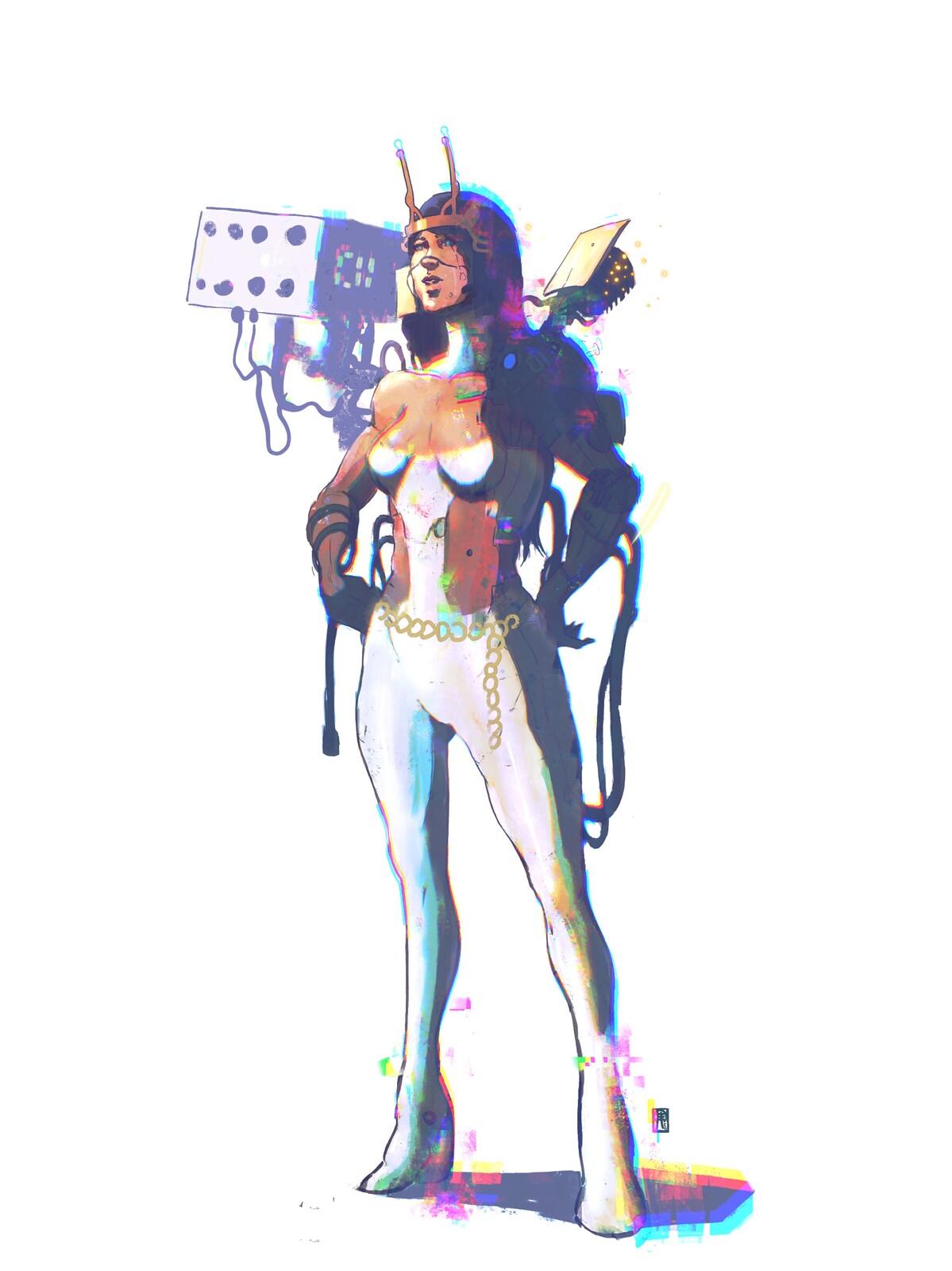Space Princess//Battle Configuration//01