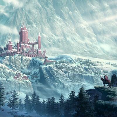Niwa jongkind winter castle environment small niwa jongkind