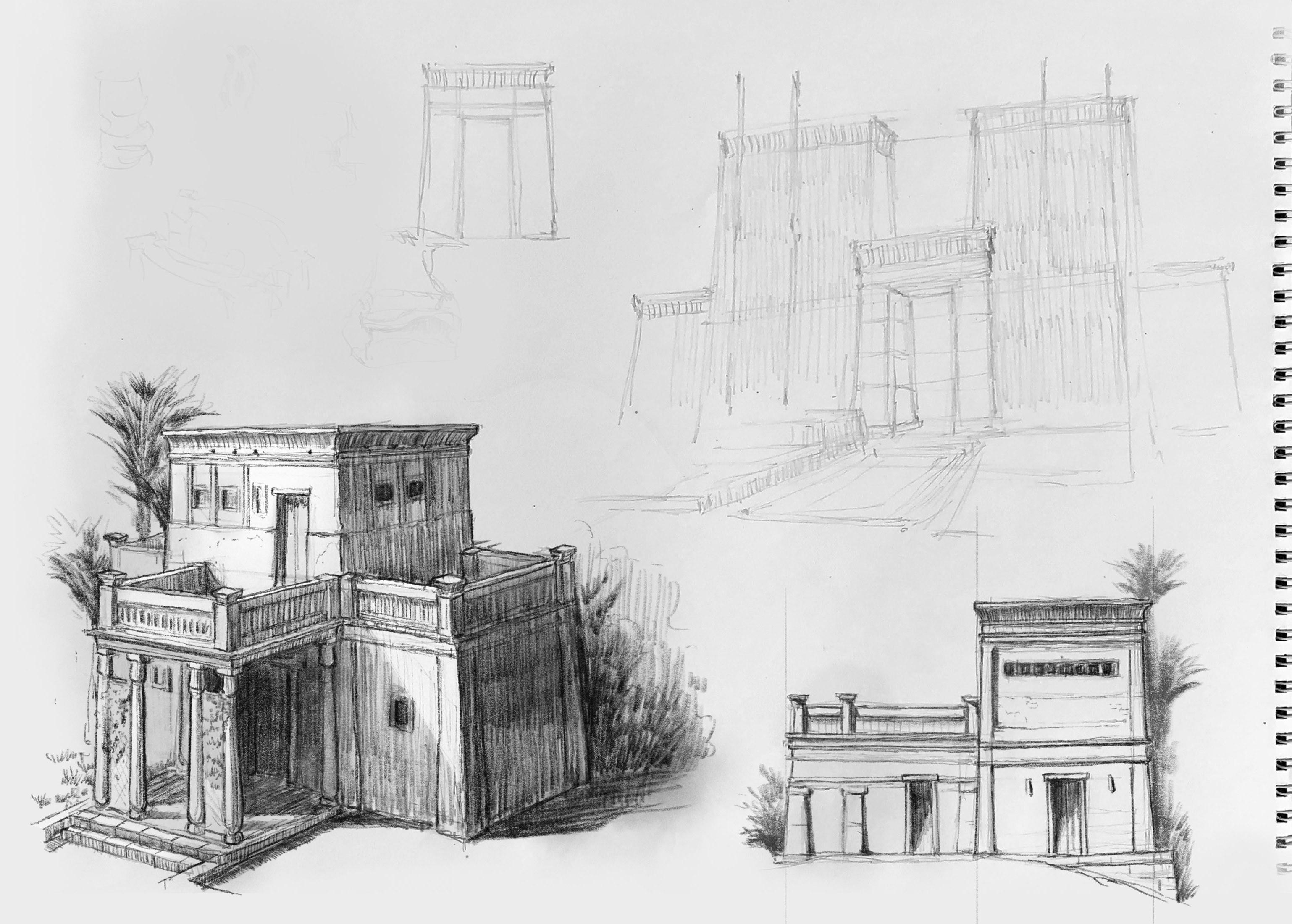 Egyptian Homes study