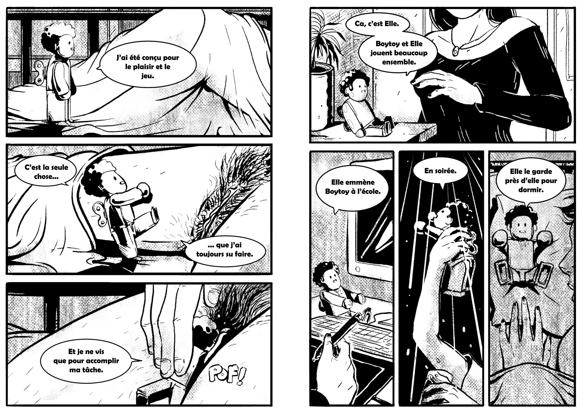 Boytoy Comic