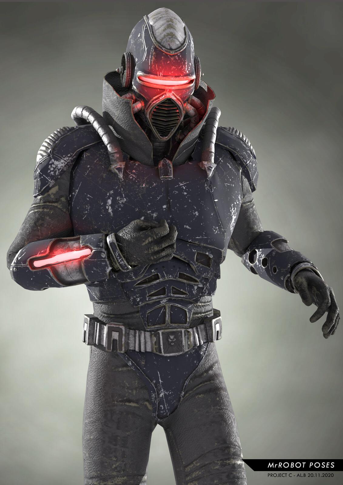 MrROBOT Game Character 2020