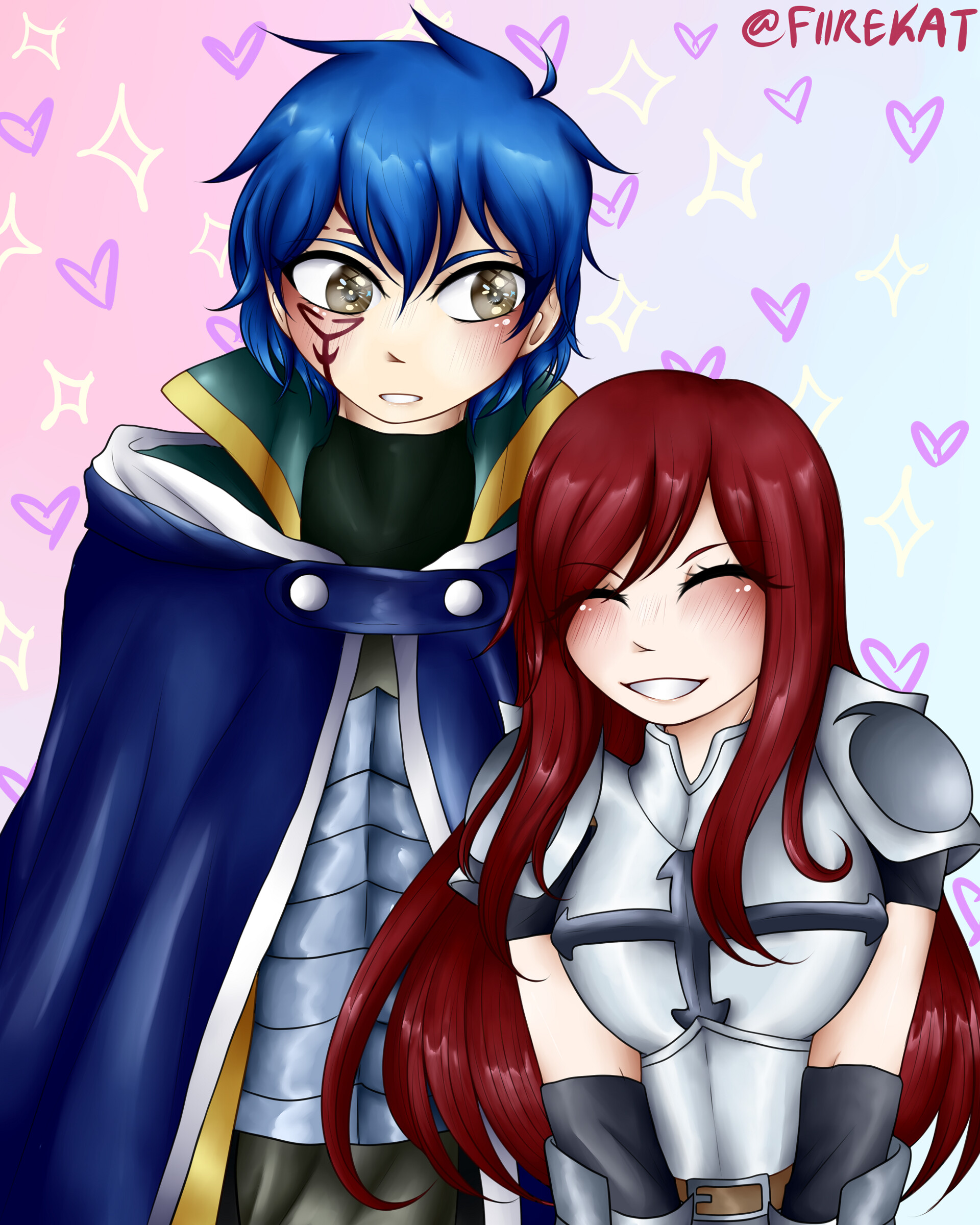 Katharine Maxwell Jellal And Erza #jellal fernandes #fairy tail #jellal #fairy tail jellal #i spent a whole four minutes on this please worship it. katharine maxwell jellal and erza