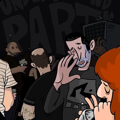 Guy harlap underground party2