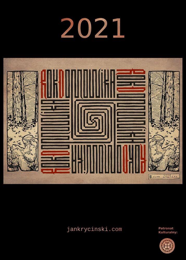 "PL: Okładka kalendarza ""Rok Domowika""  ENG: Cover for ""Rok Domovika"" calendar"