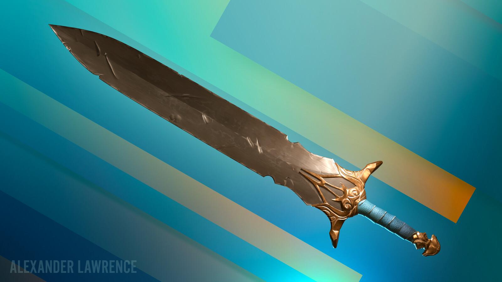 Journeyman's sword of my own design