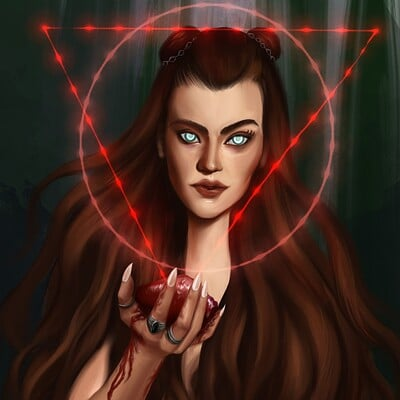 Gabriela shelkalina blood magic flat