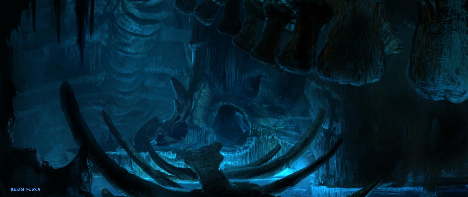 Beowulf, Grendel's Cave - Ice Blink Studio
