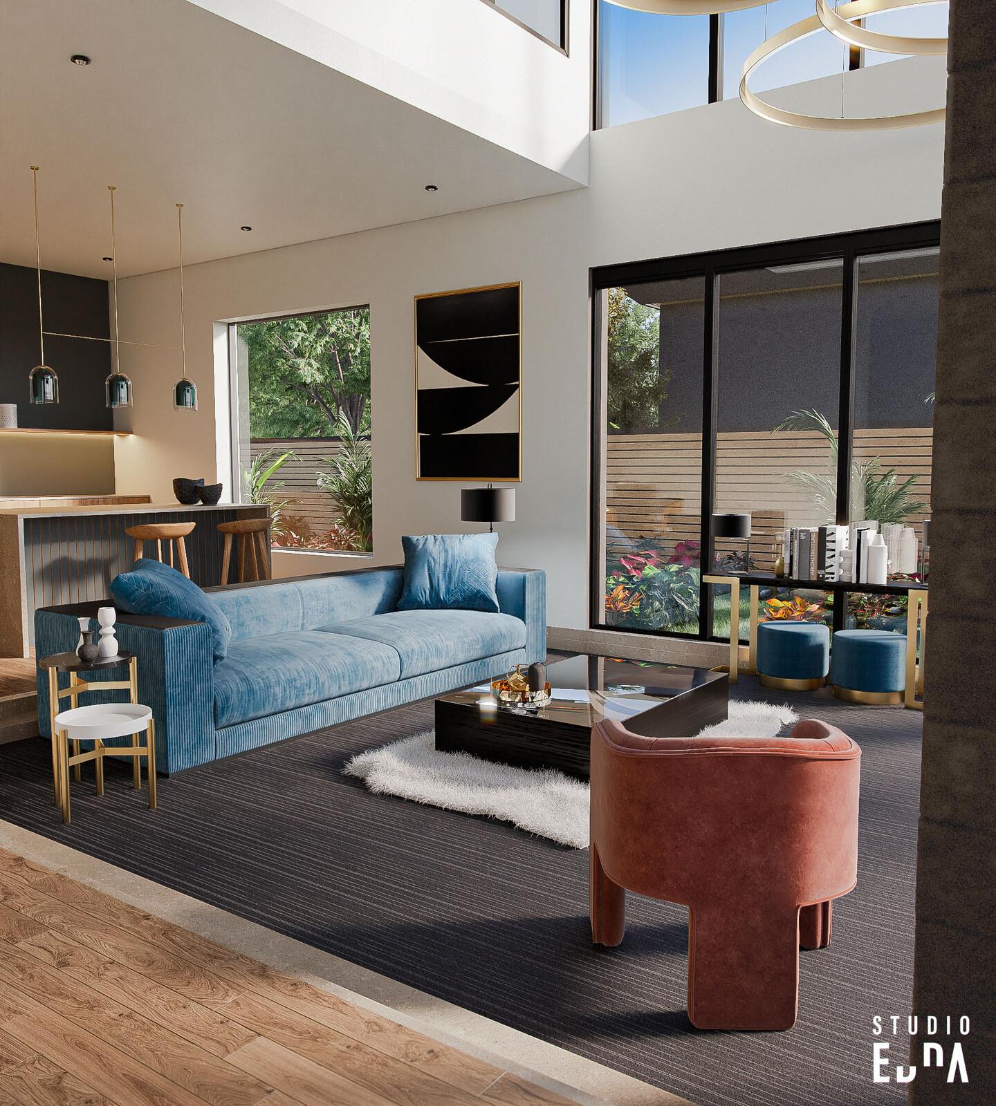 CG Interior - Villa Ridgeview Country Estates