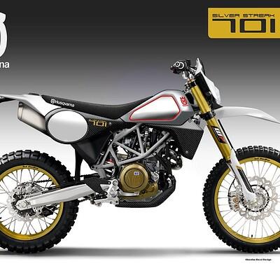 Oberdan bezzi husqvarna silver streak 701 concept