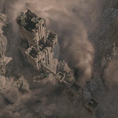 Filippo baracchi desert castle 1
