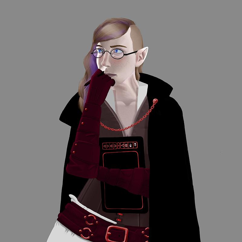 A Fantasy Self Portrait