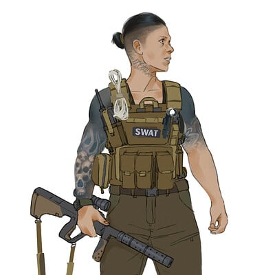 Guillermo talbott swat officer d