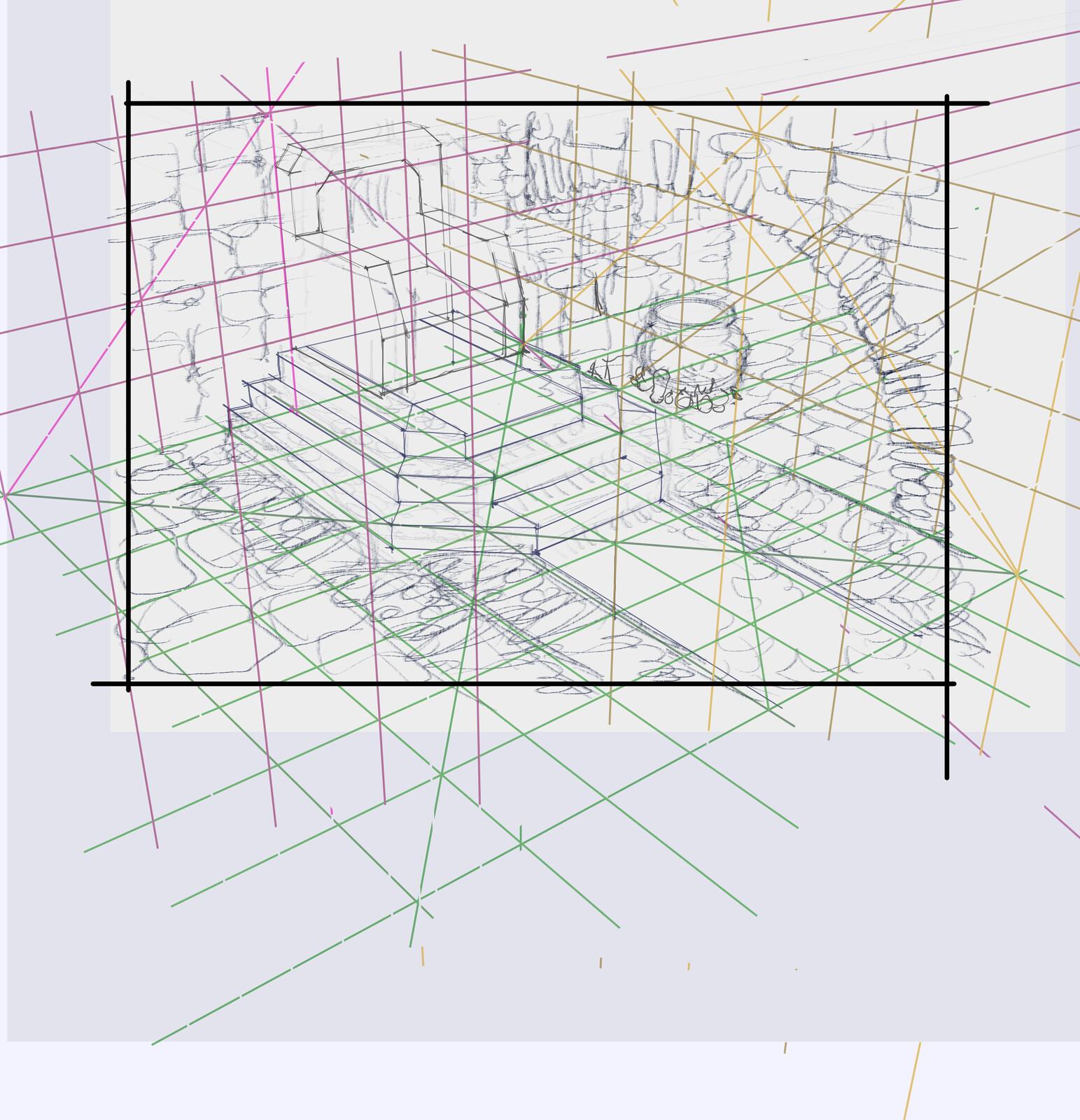 Final Environment Drawing