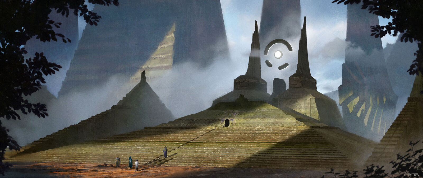 Ancient temple by Rafater