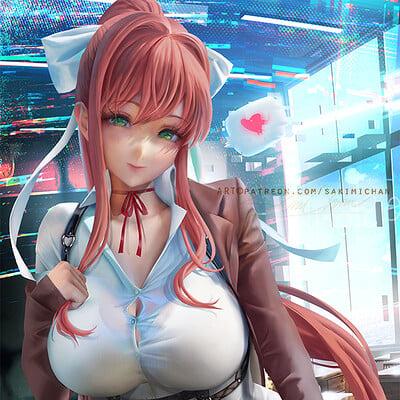 Sakimi chan monika virtual girlfriend