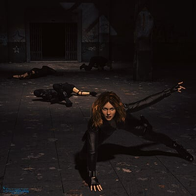 Lizzie prusaczyk d9s co action heroine